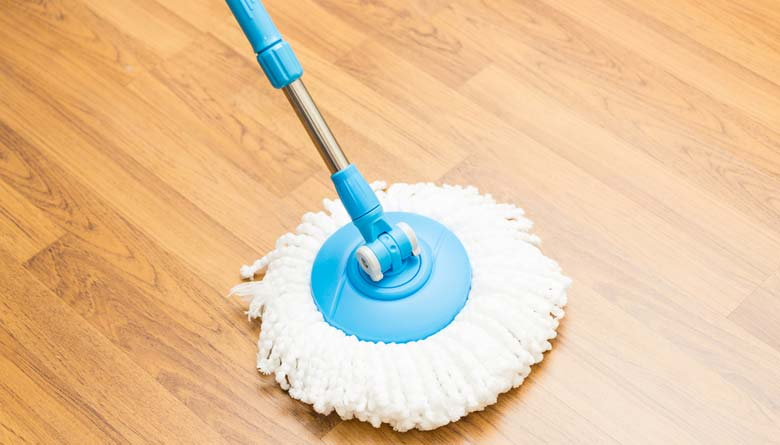 Hurricane Lighting Spin Mop