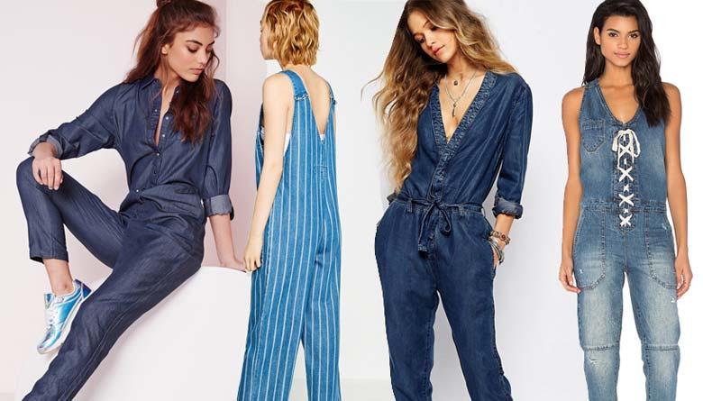 Summer Shopping: 10 Jazzy Denim Jumpsuits