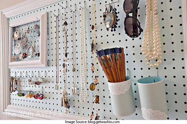 Pegboards for Display
