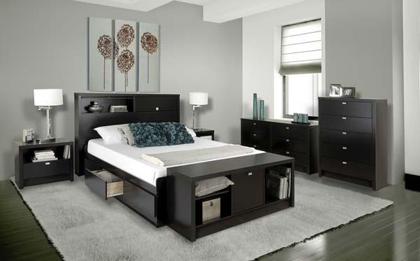 Create storage under beds