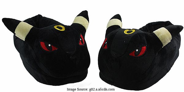 Pokémon Umbreon Slippers