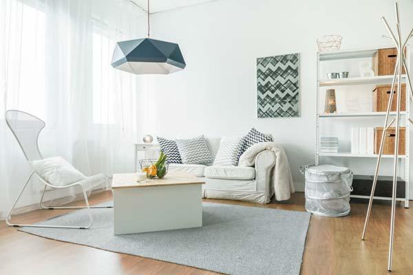 Use less big furniture