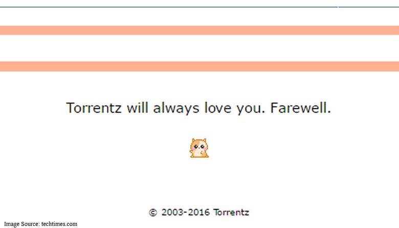 Torrentz Shut Down