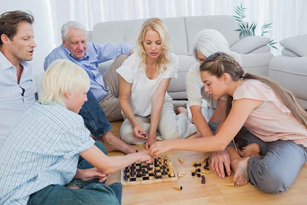 Family Chess Game
