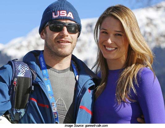 Bode Miller and Morgan Beck