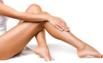 body affected by cellulite
