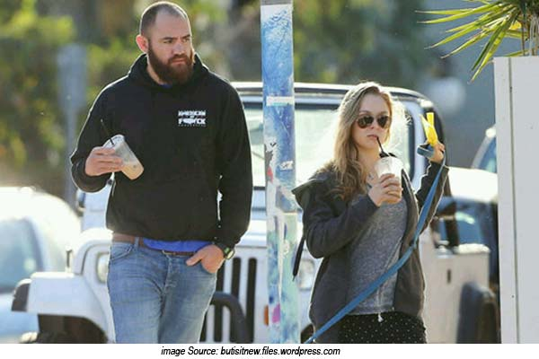 Ronda Rousey and Travis Browne