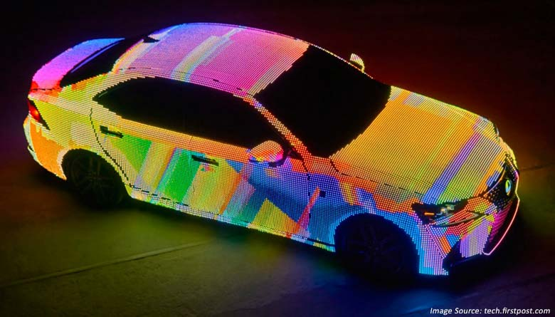 LED Powered LIT IS Sedan