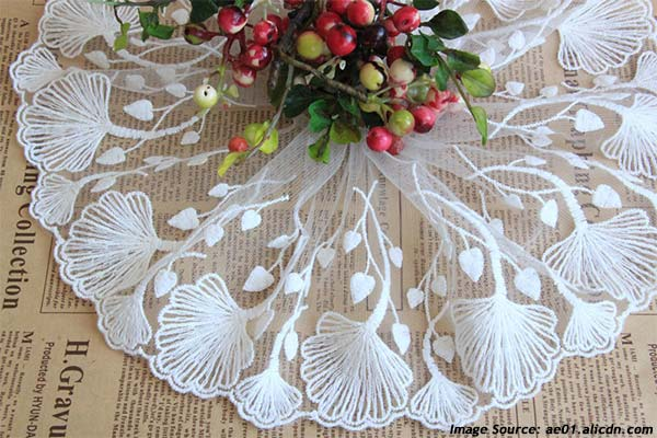 Ginkgo Round Tablecloth