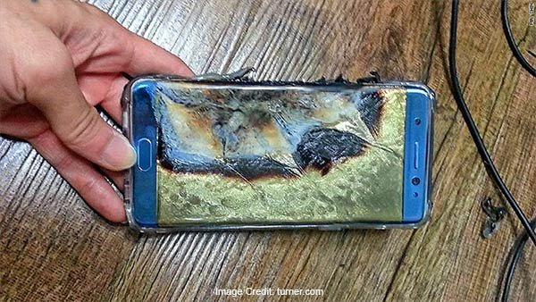 the recall of samsung galaxy note