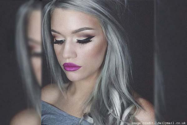 Blonde Gray