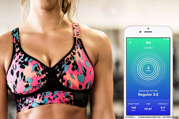 OMsignal OMbra Tracking Bra: Companion App