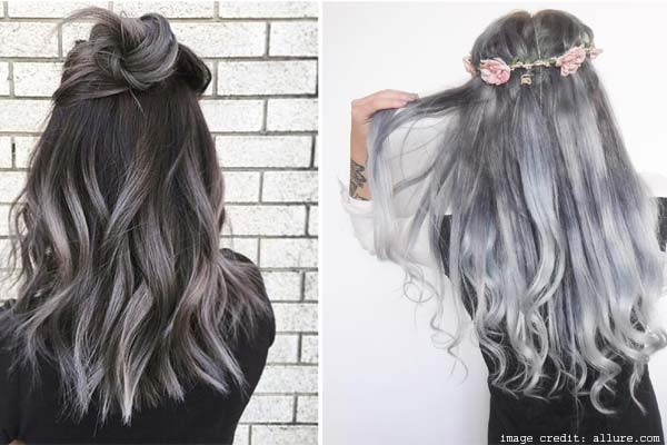 Gray Ombré Hair