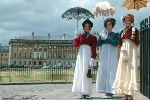 Jane Austen's Bath, England