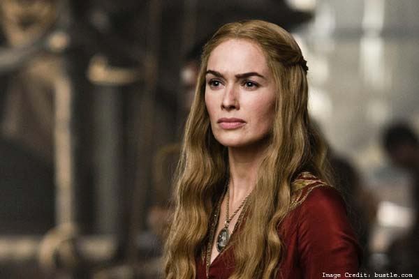 Cersei's Dark And Bold Eyebrows