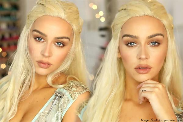 Khaleesi, The Mother Of Dragons' All Natural Look