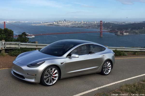 Tesla Model 3 Prototypes In Public