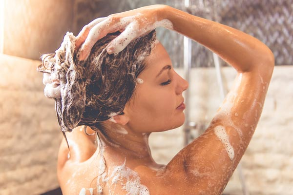 More shampoo you are using, the cleaner your hair is going to be