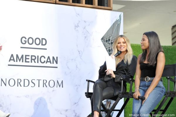 Khloe Kardashian Good American Event