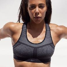 Nike FE/NOM Flyknit Women's High Support Sports Bra