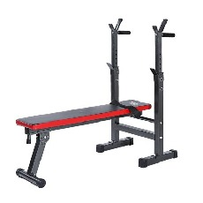 TOMSHOO Abdominal Exercise Back Extension Weight Bench