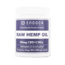 Capsules RAW Hemp Oil Total