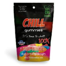 Chill Gummies CBD Sour Snakes