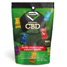 Diamond CBD Gummy Rings