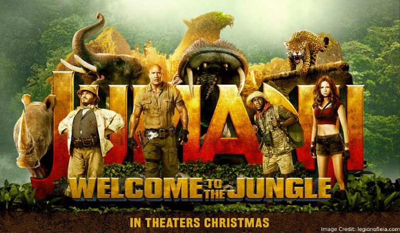 Jumanji Welcome To The Jungle Movie Trailer