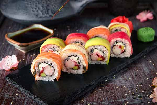 benefits of sushi