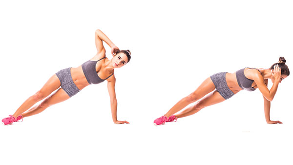 exercise for love handles
