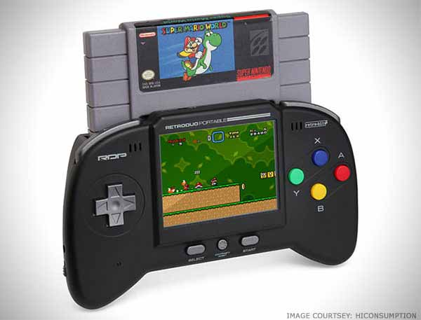 Portable Retro Game System