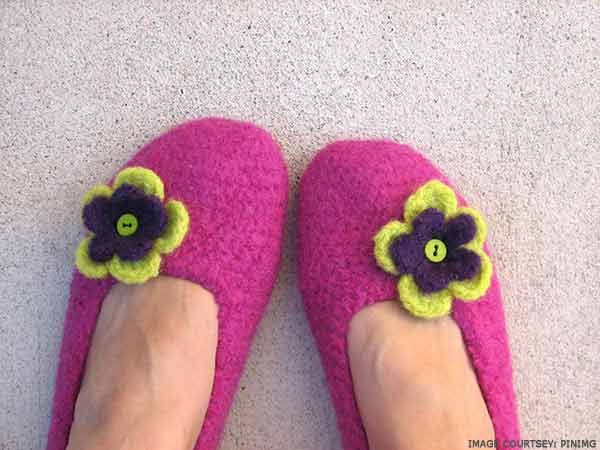 felted-crochet-slippers