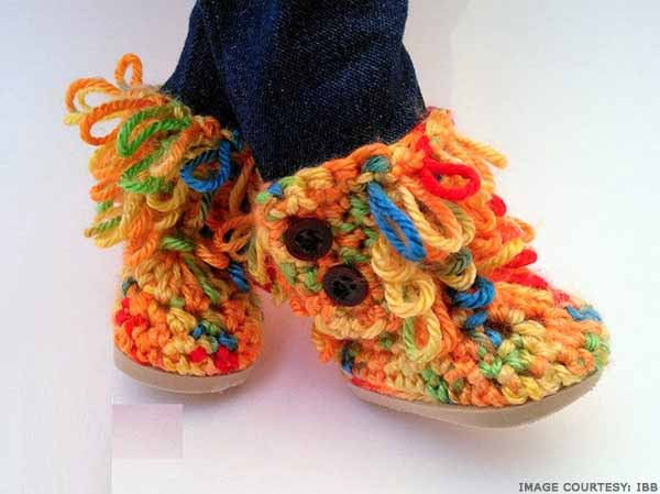 loop-stitch-crochet-slippers-pattern