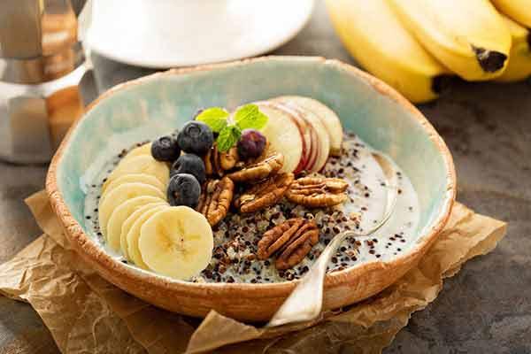 quinoa-oatmeal