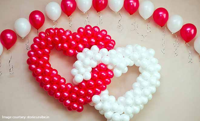heart balloon decoration