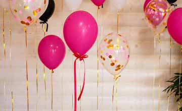 how to decorate with balloons