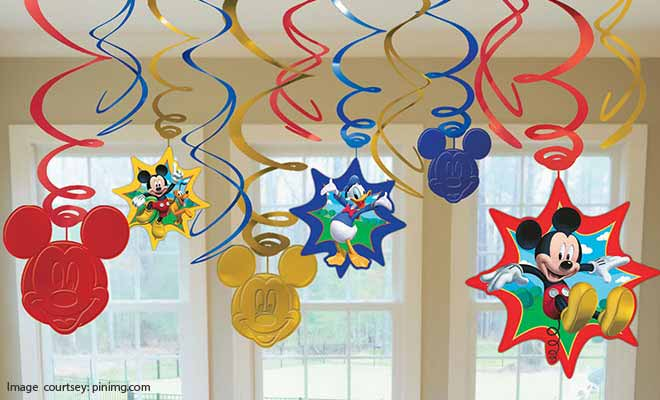 swirls decoration idea
