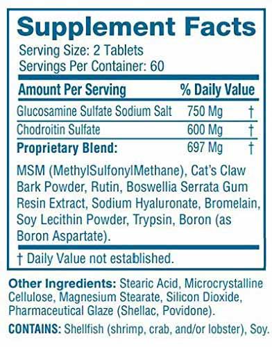 Flexoplex Ingredients Dosage Facts