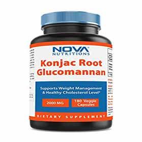 Konjac Root Glucomannan