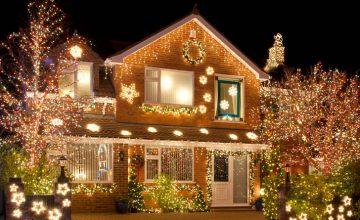 exterior holiday lighting