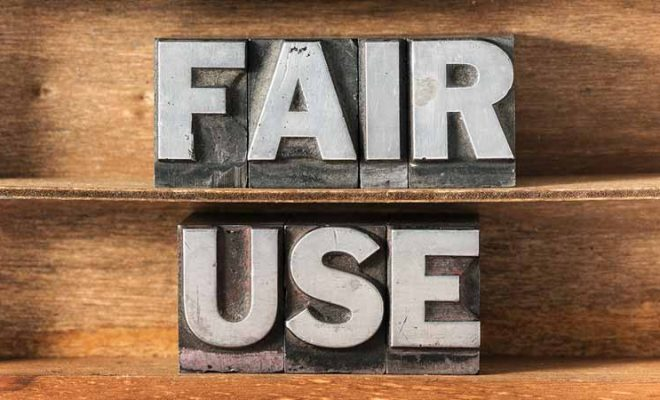"What constitutes a violation of ""fair use""?"