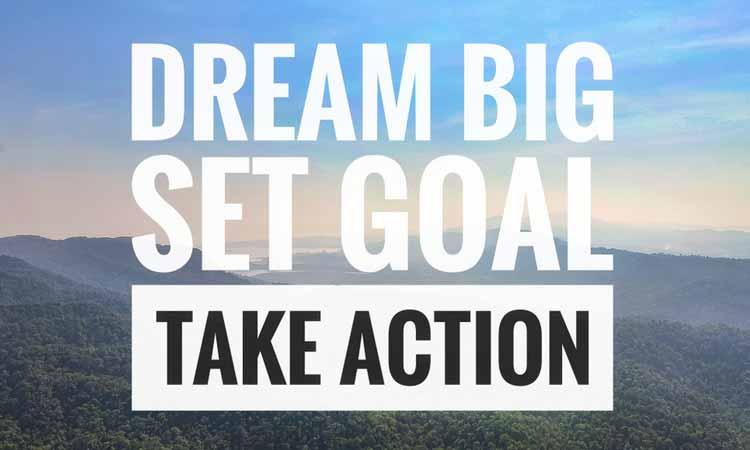 life goal steps