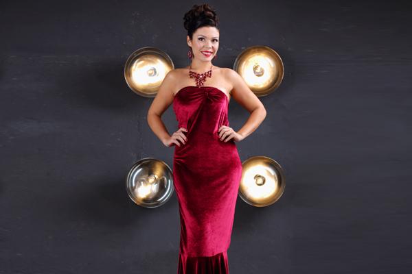 Velvet Dress by Cavalleri Bardot
